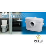 Reovee ja WC-pump Saniaccess 2 ( sobib, WC pott + valamu )
