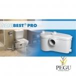 Reovee ja WC-pump Sanibest Pro ( sobib: WC pott + valamu + dušš + bidee )