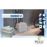 Reovee ja WC pumpla SANICUBIC 1 (sobib:WC pott + valamu + dušš + vann + pesumasin + nõudepesumasin )