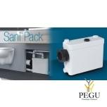 Sanipack (  настенный WC можно:+ раковина + душ + биде )