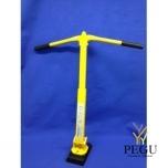Подъёмный магнит для люка с длинными складными ручками