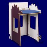 Детский пеленальный столик складной. Mowi Aubergine