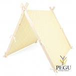 Детская игровая палатка  Жёлтая Maxi 145 x 145 cm