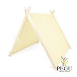 Детская игровая палатка Жёлтая Mini 105 x 110 cm