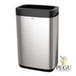 Tork мусорный бак 50L 46011 614 x 253 x 395 mm, нержавеющая сталь/пластик