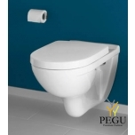 Villeroy & Boch O.Novo WC Combipack 5660H101 valge alpin, seinale WC+vaikselt sulguv iste