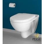 Villeroy & Boch O.Novo WC Combipack 5660H101 белый alpin, настенный WC+сидение с плавным закрыванием