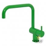 Смеситель с ручкой кухонный KV1, Светло зелёный