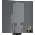 Wagner Ewar бесконтактный дозатор для мыла установка за зеркалом 950ml бутылка сатин Н/Р сталь