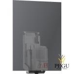 Wagner Ewar бесконтактный дозатор для мыла установка за зеркалом 200ml бак сатин Н/Р сталь