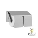 Держатель для туалетной бумаги Wagner Ewar 2 рулона Н/Р сталь полированный