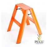 Дизайн лестница Hasegawa 2 ступени оранжевая