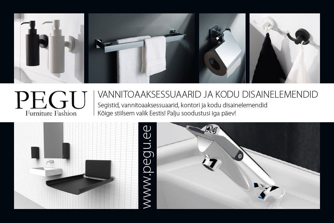 3fd82632b11 PEGU - suurim segistite ja vannitoaaksessuaaride e-pood Eestis